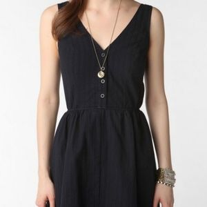 UO byCORPUS Bow Back Dress in White